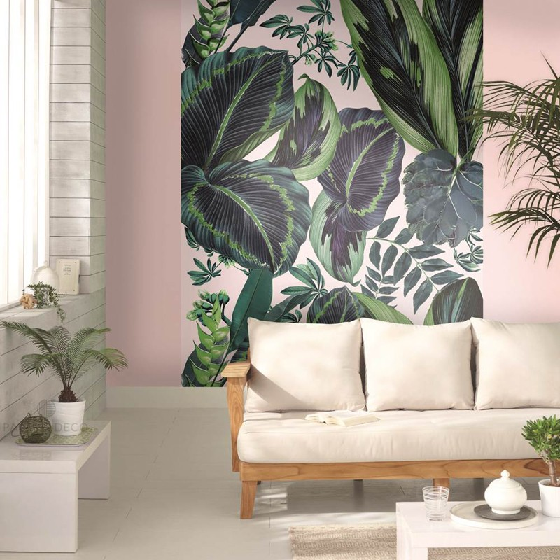 Mural decorativo Caselio Jungle The Pink Jungle JUN100197812 A