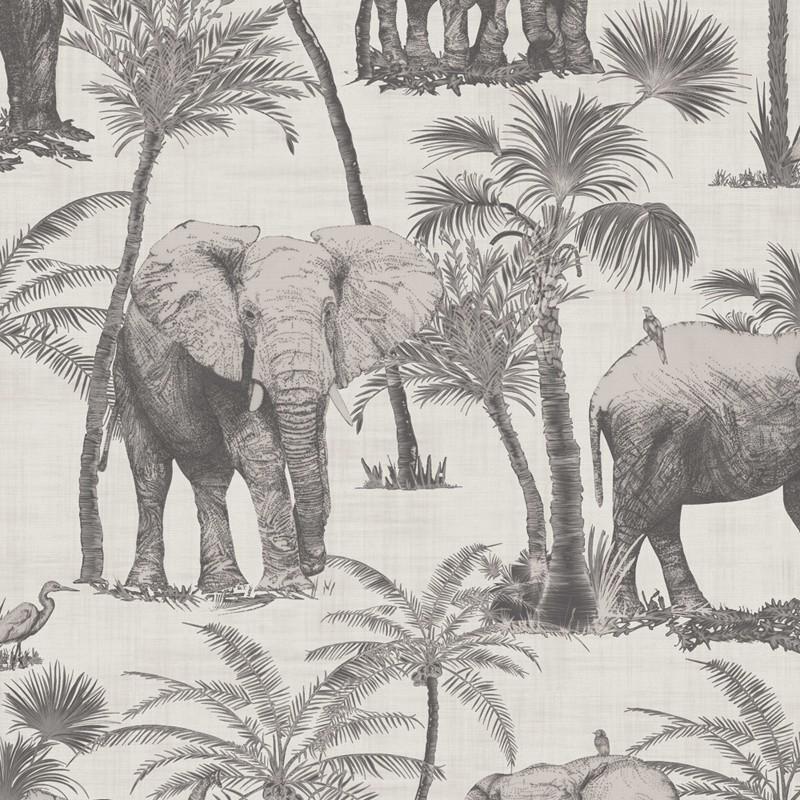 Papel pintado Arthouse Journeys Elephant Grove 610702