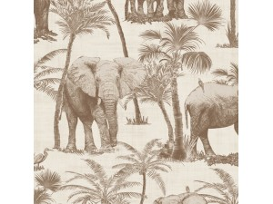 Papel pintado Arthouse Journeys Elephant Grove 610703