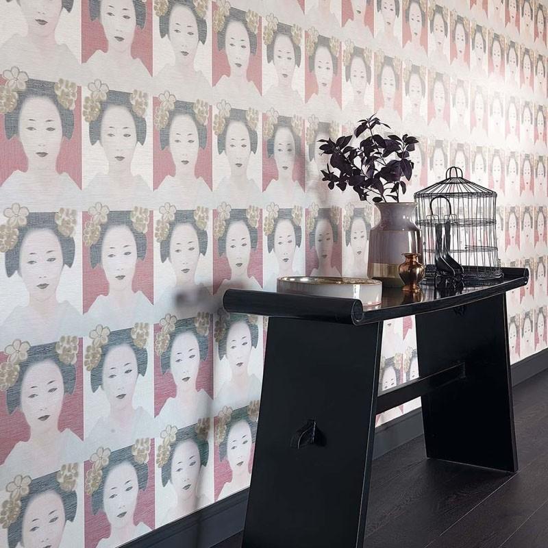 Papel pintado Jab Anstoetz Misaki Osaka 4-4086-010 A
