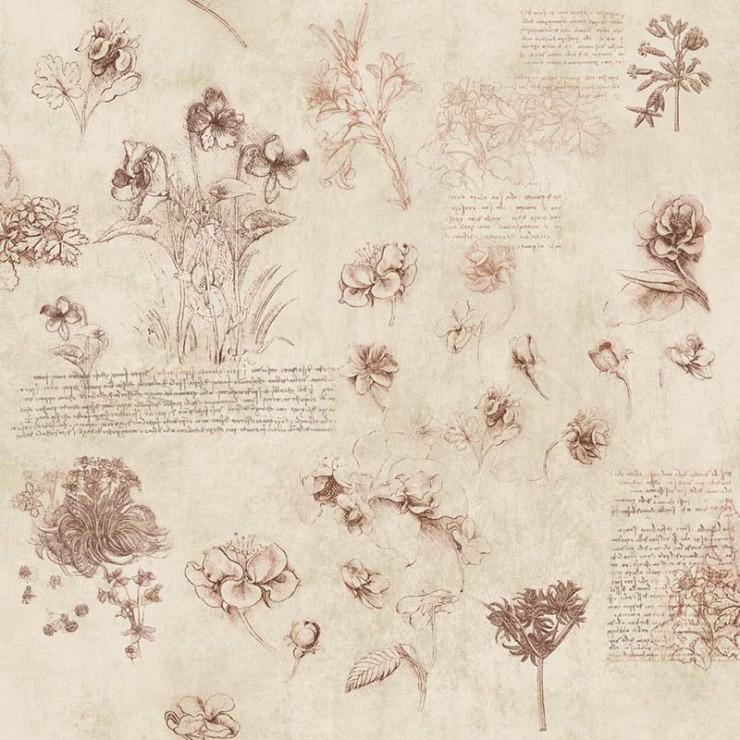 Papel pintado Janelli & Volpi Leonardo Fiori 23002