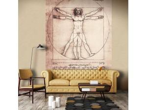 Mural decorativo Janelli & Volpi Leonardo Vitruvio 23091 A