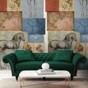 Leonardo Studio Equestri 23092 J&V Mural decorativo