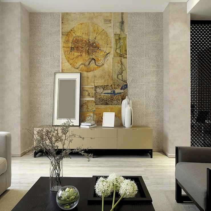 Mural decorativo Janelli & Volpi Leonardo Mappe 23093 A