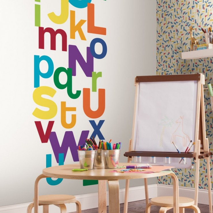 Mural infantil York Wallcoverings Young at Heart LK8282M A