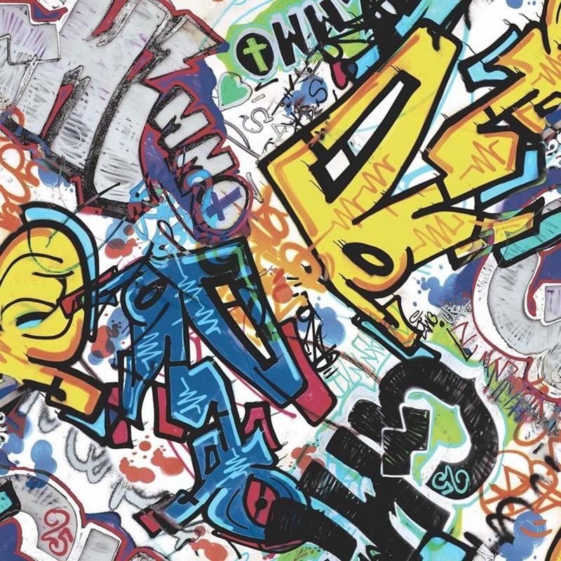 Papel pintado juvenil Colowall Hip & Fun III 248-5816