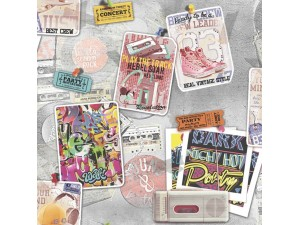 Papel pintado juvenil Colowall Hip & Fun III 248-5810