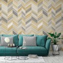 Geometric Space 286-4450 Colowall Mural