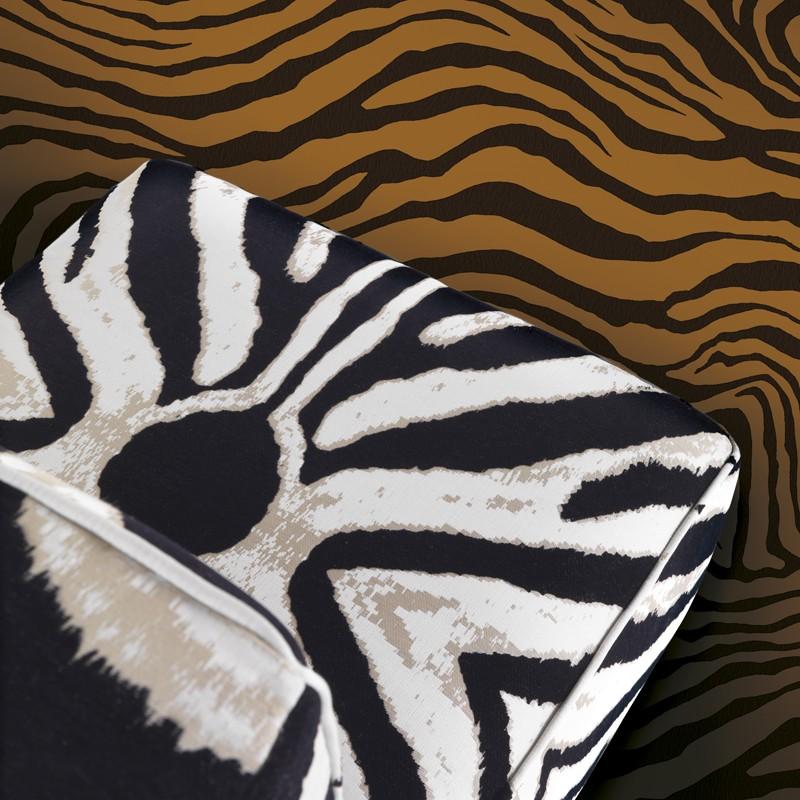 Mural decorativo Roberto Cavalli nº 6 Zebra A RC17211 A