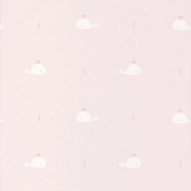 Papel pintado infantil Casadeco Happy Dreams Whale HPDM82794220