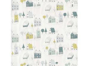 Papel pintado infantil Casadeco Happy Dreams Small Village HPDM82847128
