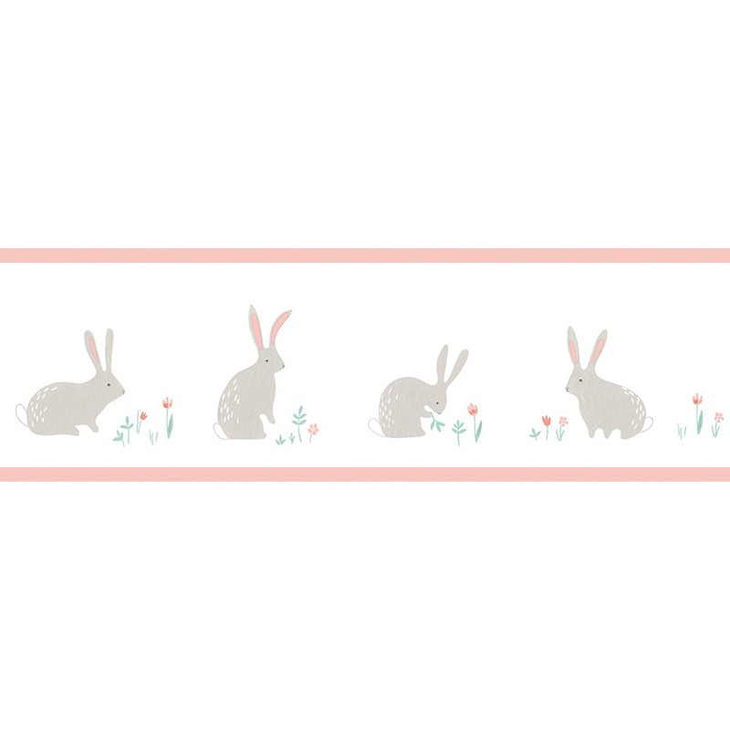 Cenefa infantil Casadeco Happy Dreams Bunny HPDM82894240