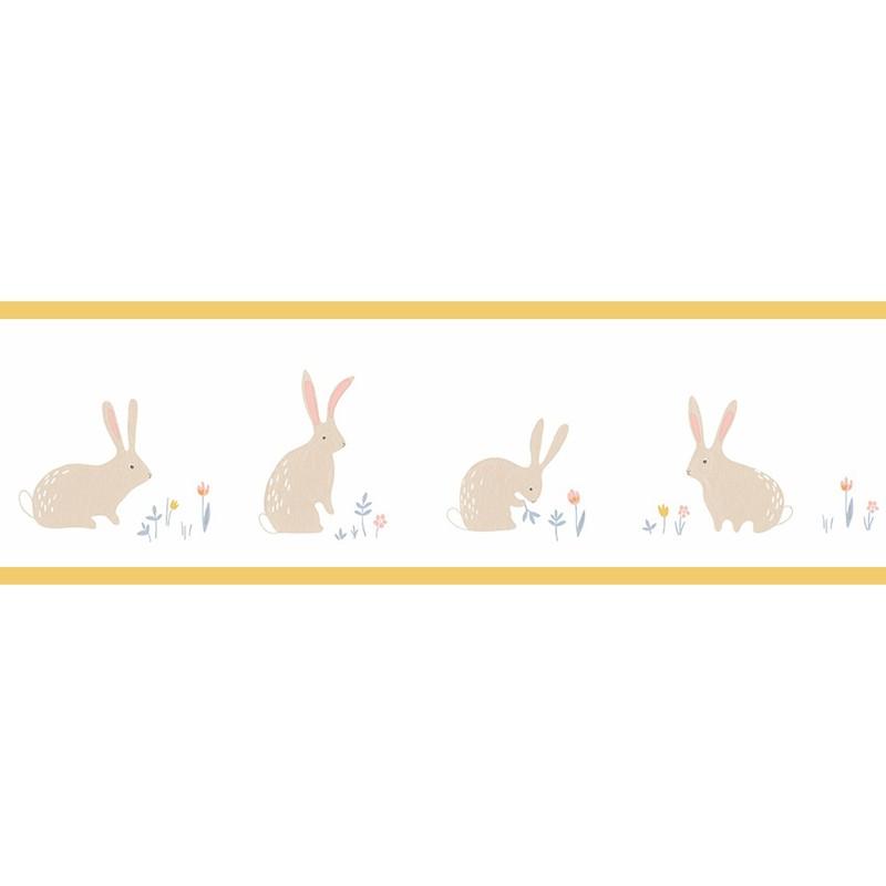 Cenefa infantil Casadeco Happy Dreams Bunny HPDM82892339