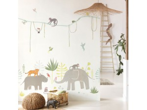 Mural infantil Casadeco Happy Dreams Jungle HPDM82994343 A