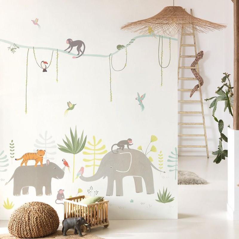 Mural infantil Casadeco Happy Dreams Jungle HPDM82994343 A
