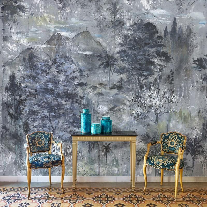 Mural decorativo Coordonne Botanika Glass 7800990 A