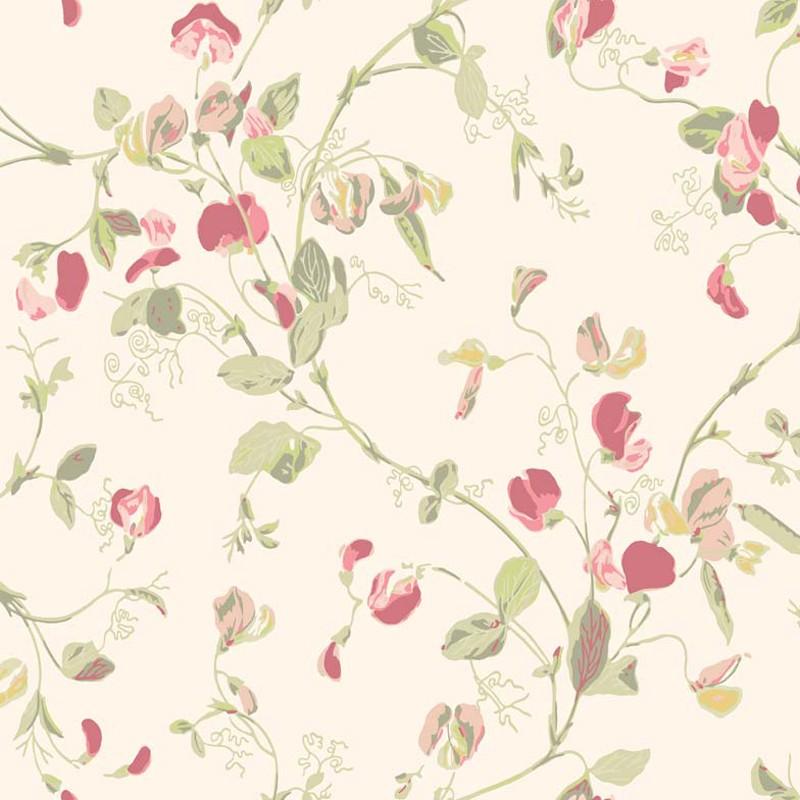 Papel pintado Cole & Son Botanical Botanica Sweet Pea 100-6028