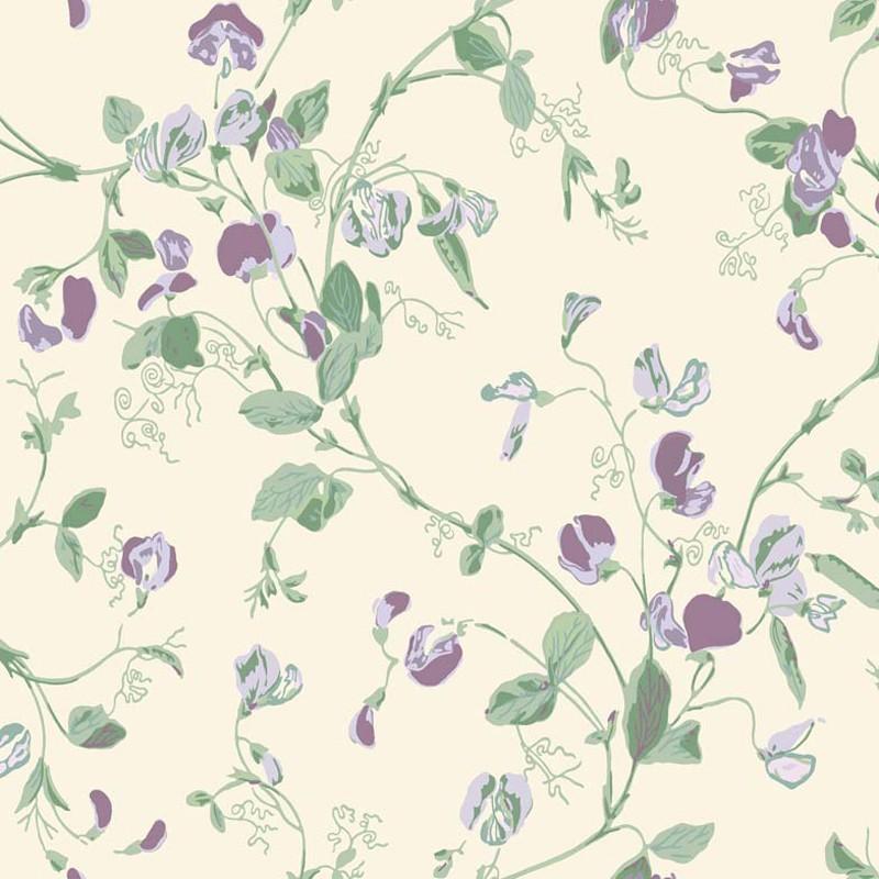 Papel pintado Cole & Son Botanical Botanica Sweet Pea 100-6030
