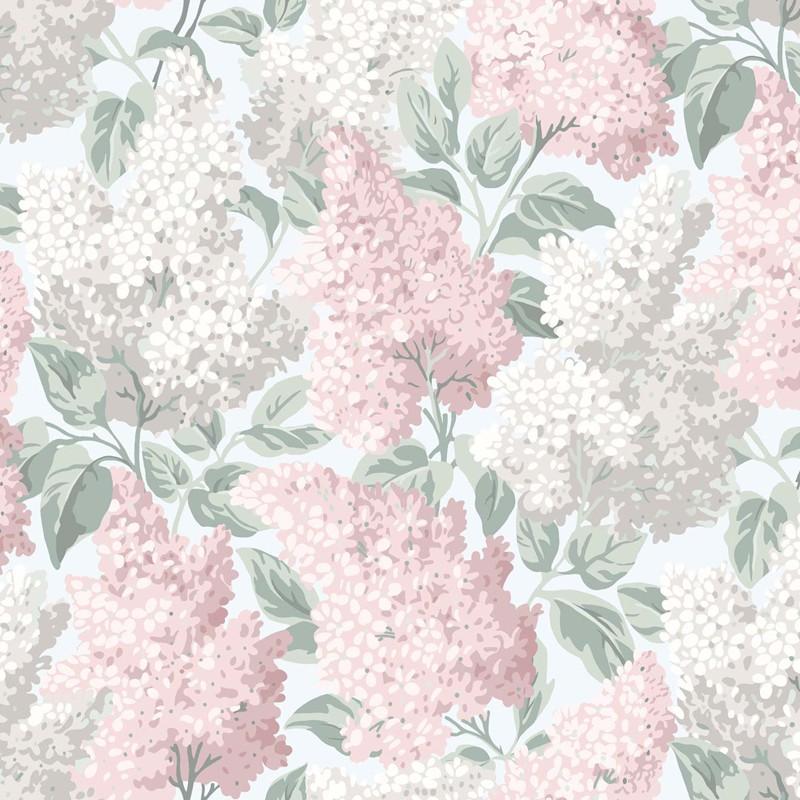 Papel pintado Cole & Son Botanical Botanica Lilac 115-1002