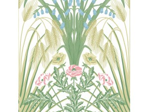 Papel pintado Cole & Son Botanical Botanica Bluebell 115-3008