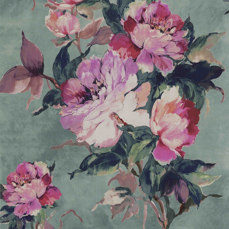 Papel pintado 1838 Wallcoverings Camellia Madama Butterfly 1703-108-05
