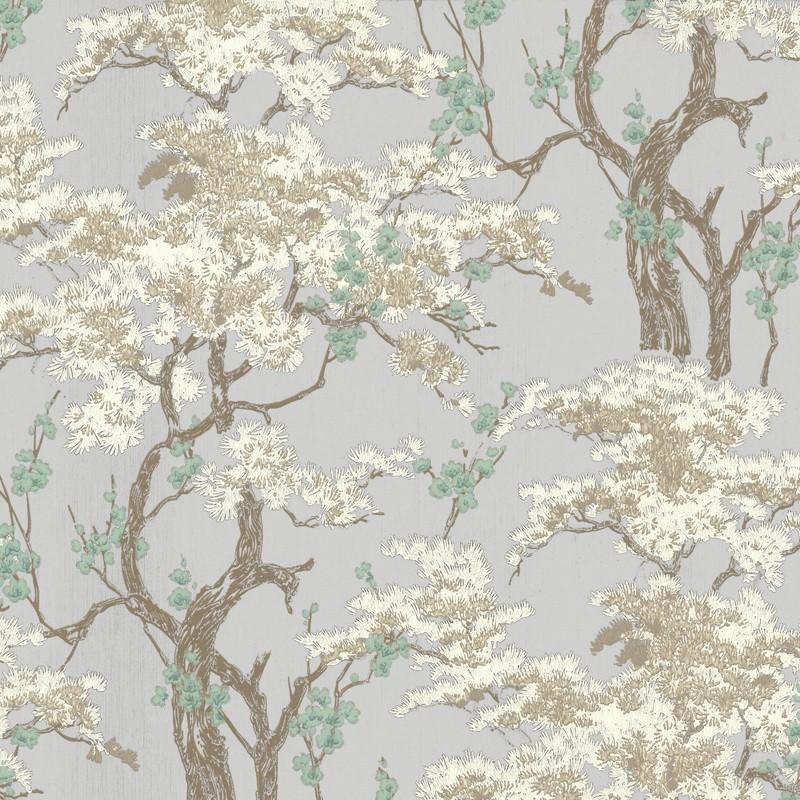 Papel pintado 1838 Wallcoverings Avington Harewood 1602-100-01