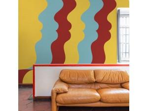 Mural Coordonné 40 th Anniversary Olimpia Zagnoli Repetita Iuvant 8000075-N