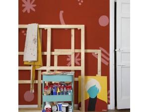 Mural Coordonné 40 th Anniversary Coco Dávez Cosmic Chilhood 8000021-N