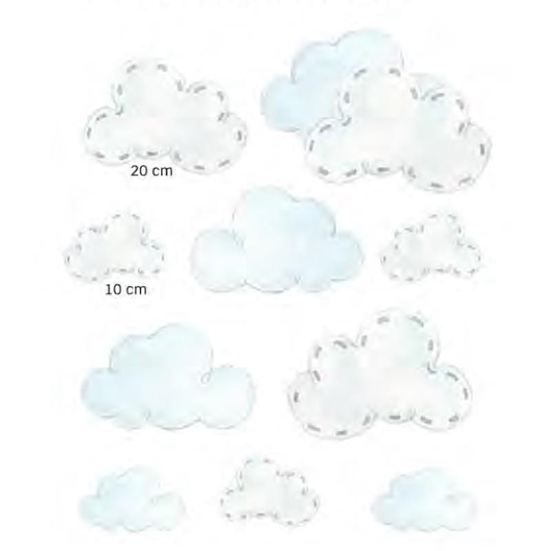 Vinilos infantiles Decoas Sueños Nubes