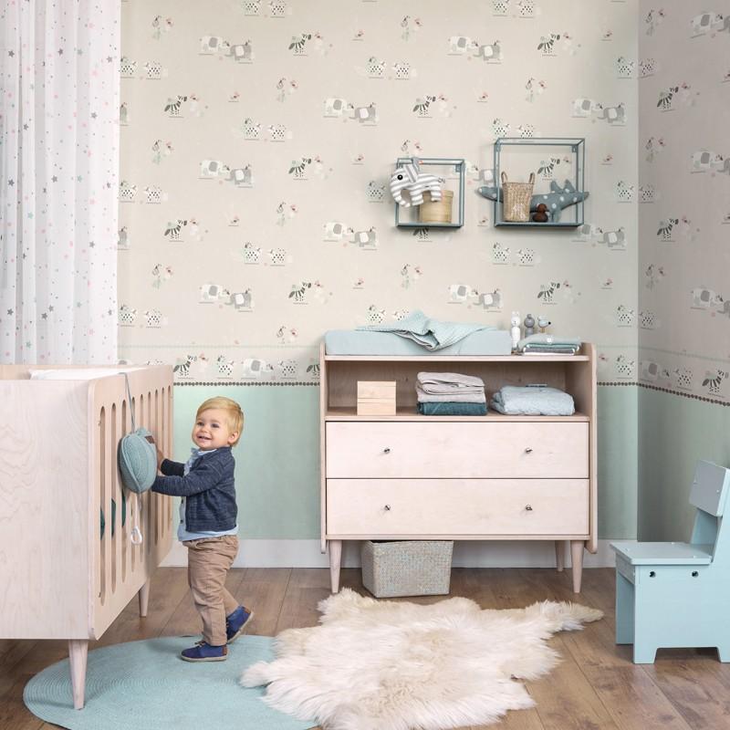 Papel pintado infantil Decoas Sueños 010-SUE a