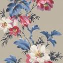 Maui Maui Flower Stripe TP81601 Wallquest Papel pintado