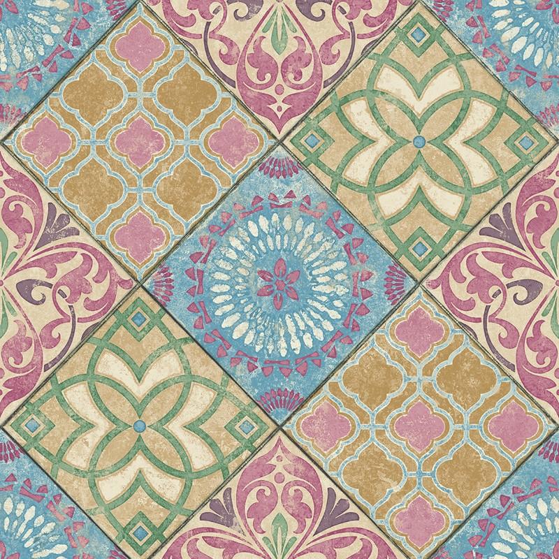 Papel pintado Wallquest Maui Maui Tile TP80301