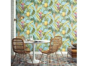 Papel pintado Wallquest Maui Maui Pineapple Floral TP80004 A