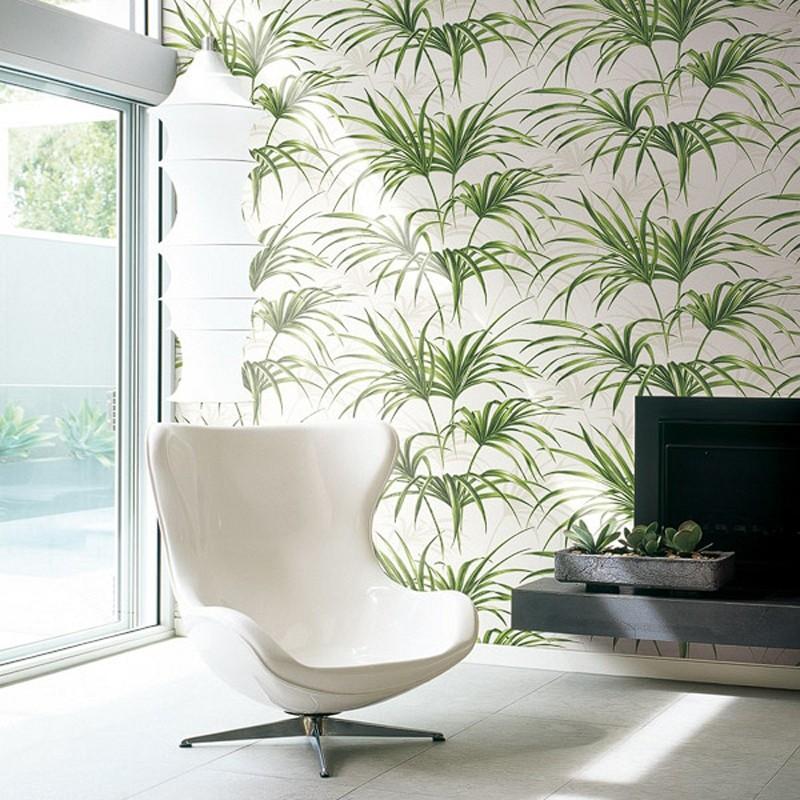 Papel pintado Wallquest Maui Maui Open Palm Leaf TP80610