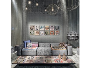 Papel pintado Missoni Home Wallcoverings 02 Horoscope 10106 a