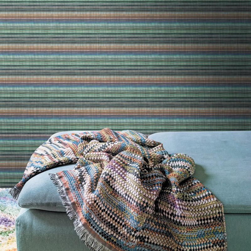 Mural Missoni Home Wallcoverings 02 Riga Multicolor Horizontal 10199 A