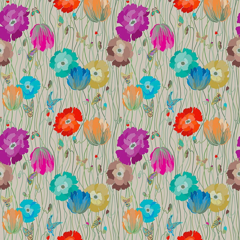 Mural Missoni Home Wallcoverings 02 Poppies 10194