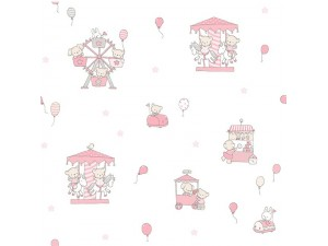 Papel pintado infantil Decoas Candy 018-CAN