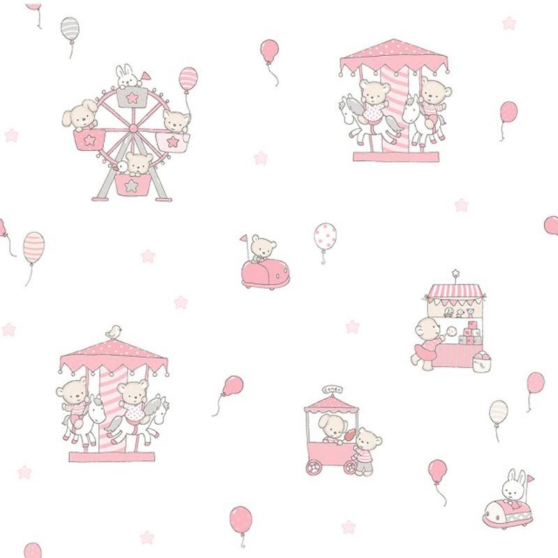 Papel pintado infantil Decoas Candy 018-CAN