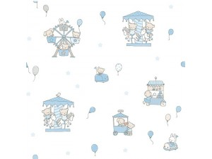 Papel pintado infantil Decoas Candy 013-CAN