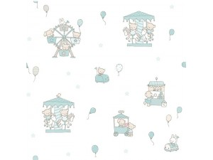 Papel pintado infantil Decoas Candy 004-CAN