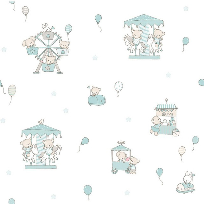 Papel pintado infantil Decoas Candy 004-CAN