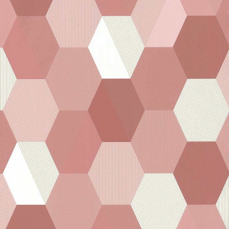 Papel pintado Caselio Spaces Hexagon SPA100104144