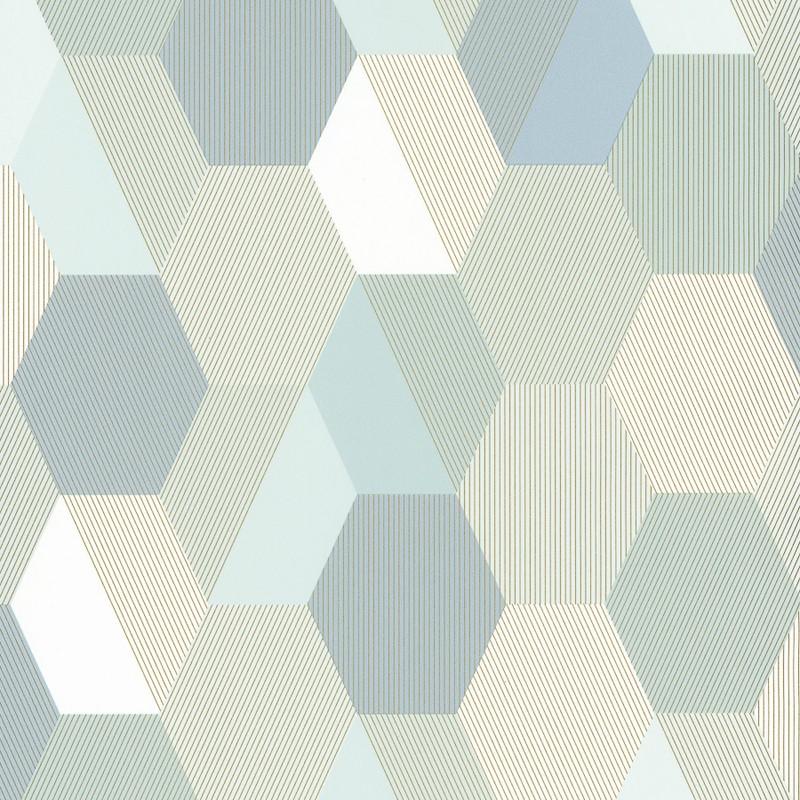 Papel pintado Caselio Spaces Hexagon SPA100107077