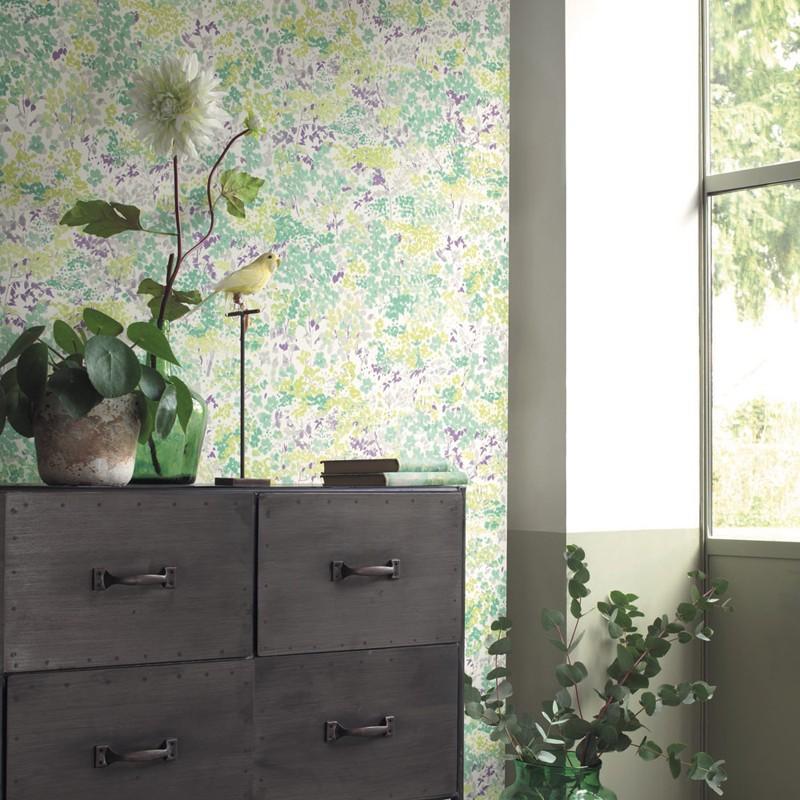 Papel pintado Casadeco Florescence Huntintong FLRE82377338