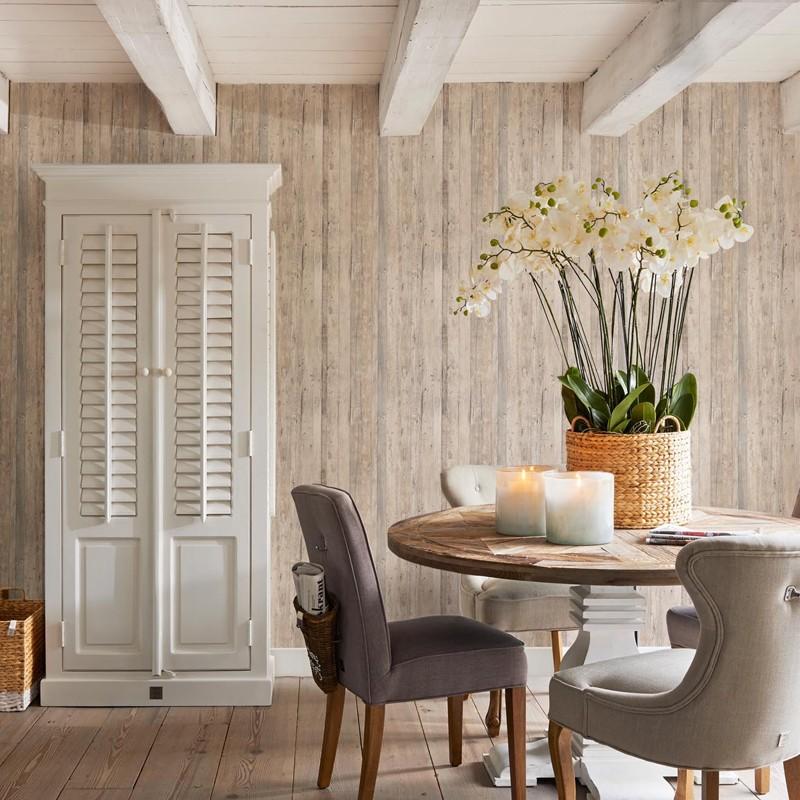 Papel pintado BN Walls Rivièra Maison 2 Driftwood 18293