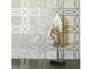 Papel pintado Arthouse Reflections Kiss Foil Geo 903205