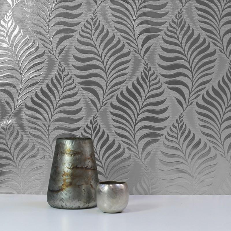 Papel pintado Arthouse Reflections Foil Leaf 901804