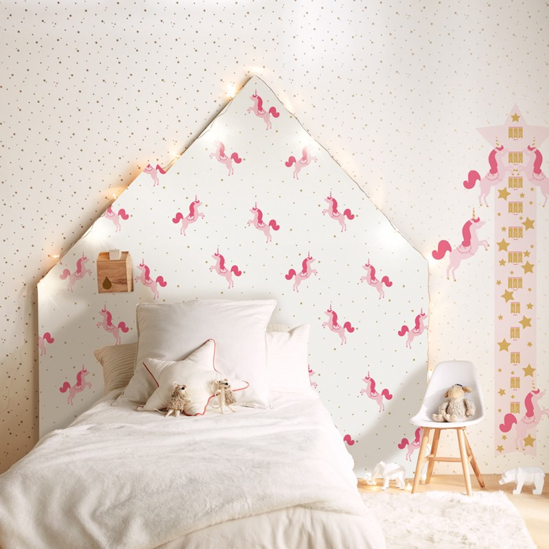Papel pintado infantil Caselio Girl Power Your're my Star GPR100802222
