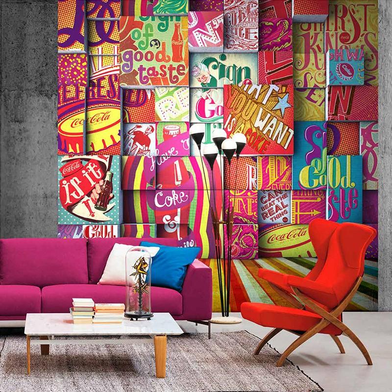 Mural decorativo Saint Honoré Coca Cola 192-Z41292